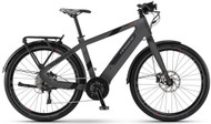 2018 Haibike Urban Plus Electric Bike - Grey