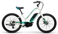 2018 iZip E3 Zuma Step Thru Electric Bike - White