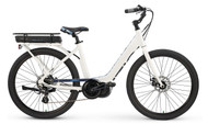 2018 iZip E3 Vibe Plus Step Thru Electric Bike - White
