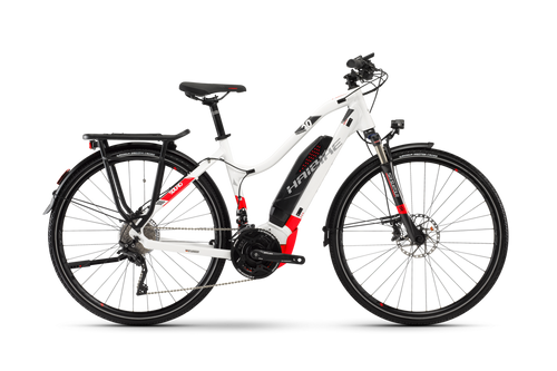 2018 Haibike Sduro Trekking 6.0 Low-Step Electric Mountain Bike