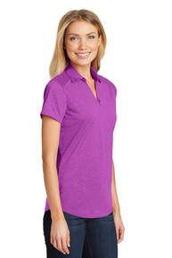PA Digi Ladies Heather Performance Polo