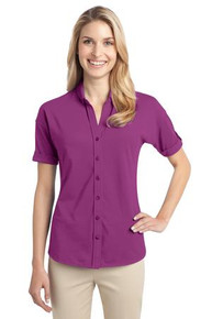 PA Ladies Stretch Pique Polos