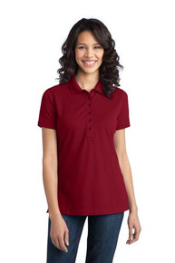 PA Ladies Stretch Pique Polo