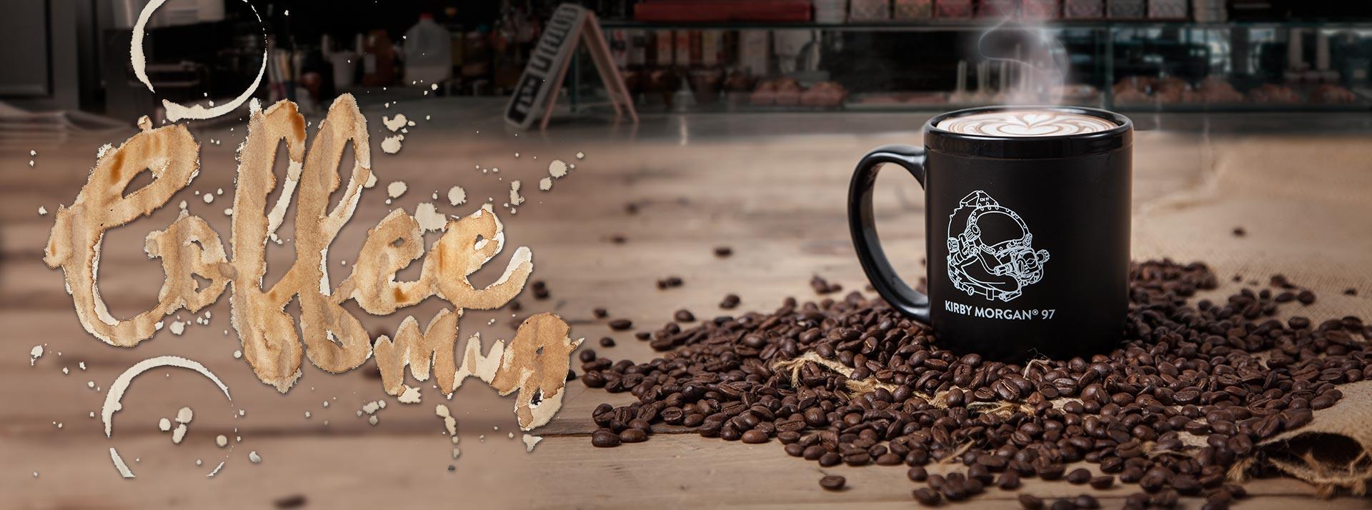 NEW Kirby Morgan Coffee Mug