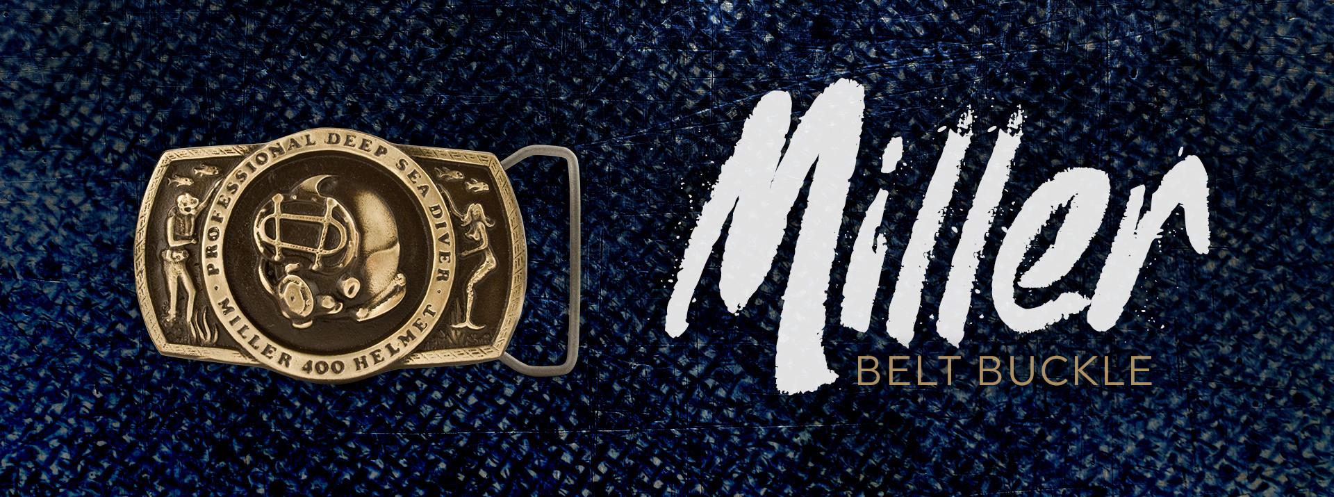 Miller Belt Buckle