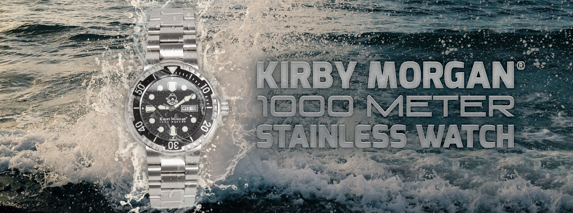 1000 Meter Stainless Steel Watch