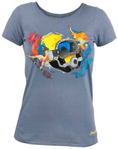 Mermaid Design Women's T-Shirt