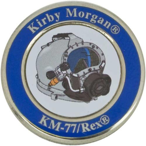 KM 77 Lapel Pin