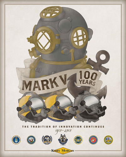 Mark V 100th Anniversary Poster