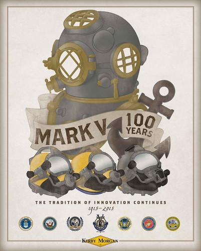 Mark V 100th Anniversary Poster