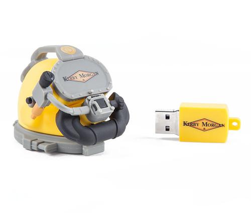 8GB USB Helmet Drive