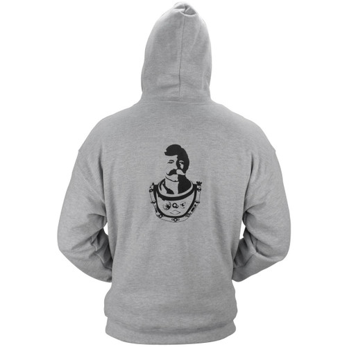 Hooded Zipper Sweatshirt (Bev Logo Design)
