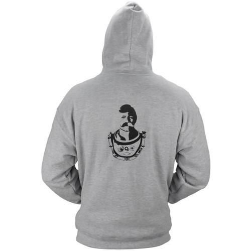 Hooded Zipper Sweatshirt (Bev Logo Design)