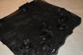Black Lap Scarf with Bling