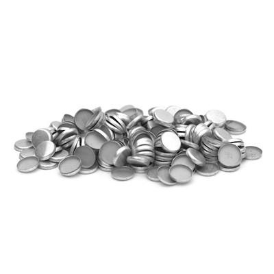 .358 / 9mm Caliber Plain Base Aluminum Gas Checks