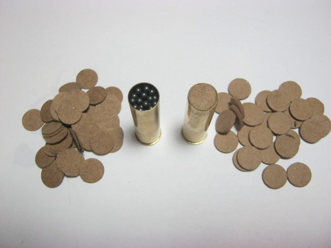 Vegetable shotshell kit.