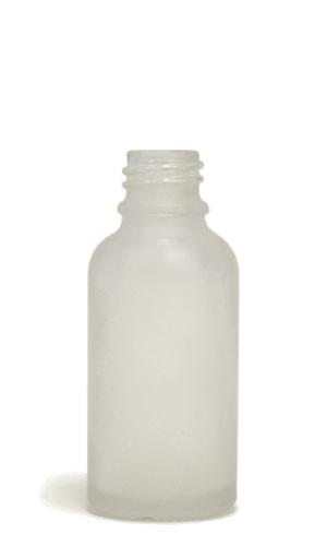 30ML Silver Chrome Coated Glass Euro Bottle