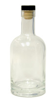 375ml Nordic Glass Liquor Bottle with T-cork