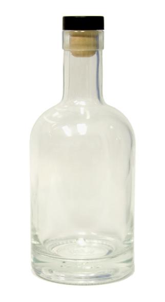 375ml Nordic Glass Liquor Bottle