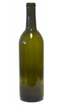 750ml Bordeaux Bottle in Antique Green - #108