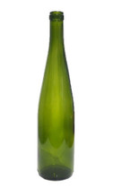 Green Hock/Desert Wine Bottle #5117 With Cork
