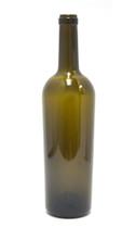 Antique Green Bordeaux Wine Bottle #57 With Cork - Case of 12