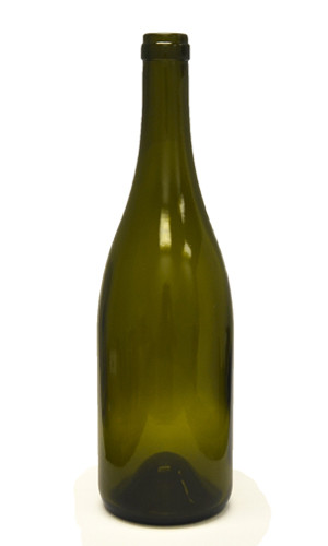 750ml Antique Green Bordeaux Wine Bottle #137CEL - Case of 12