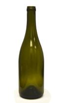 750ml Antique Green Bordeaux Wine Bottle #137CEL with Corks - Case of 12