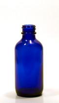 30ML (1oz) Blue Boston Round Bottles With No Closure