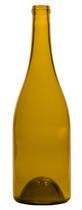 750ml Dead Leaf Green Burgundy Wine Bottle #071 With Cork - Case of 12