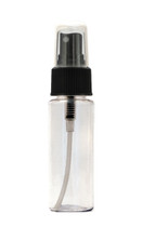 30ML Clear High Shoulder PET Plastic Bottle with Black Sprayer