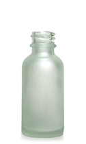 60ML (2oz) Frosted Clear Boston Round Bottles