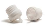 White Heavy Duty Tamper Evident Cap & Orifice Reducer