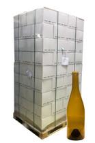 Palette of 112 Cases - 750ml Antique Green Burgundy Wine Bottle #0536