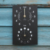 Moon and Tide clock recycled