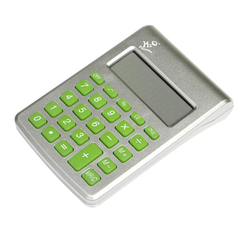 8 digit calculator with replaceable cell
