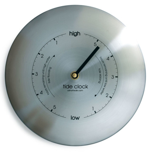 Tide clock - stainless