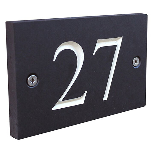 Eco House Numbers - Engraved