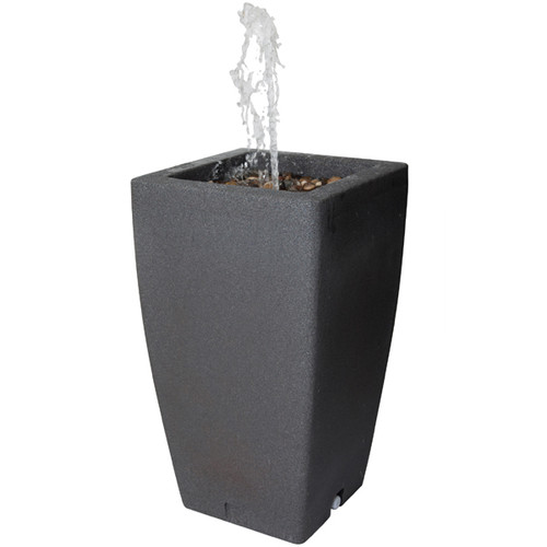 Madison Rain Barrel with Water Feature - 185 litres