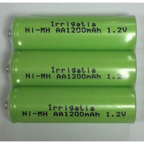 AA RECHARGEABLE BATTERIES - PACK OF 3