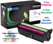 HP Color LaserJet CM4540 646A Series Toner - MAGENTA (Yield: 17,000)
