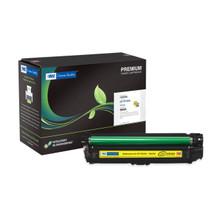 HP Color LaserJet CP3525, CM3530 504A Series Extended Yield Toner - YELLOW (Yield: 11,000)