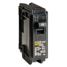 SQUARE D HOM115HM U 15A 120V 1P USED HIGH MAGNETIC