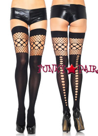 6326, Keyhole Backseam Thigh High