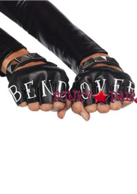2631, Bend Over Fingerless Gloves