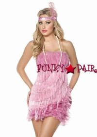 M1276, Flamingo Flapper Costume