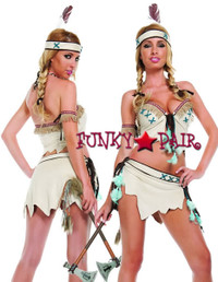 S3812, Princess Smokin' Signals Costume
