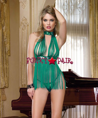 DG-9125, Fringe and Sequin Babydoll