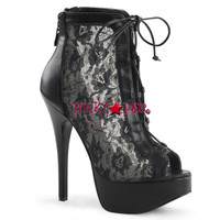 Teeze-30, Lace Ankle Boot
