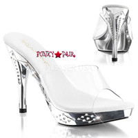 Fancy-401, 4.5 Inch rhinestones Slide